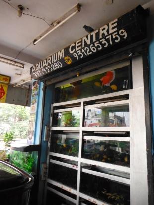 Aquarium centre
