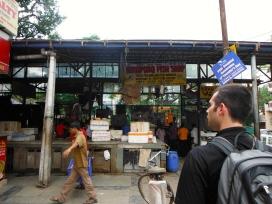 The stinky fish/chicken market