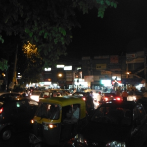 The Post-Monsoon Traffic Jam We Walked Through After Work