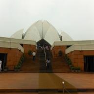 Lotus Temple Stairs