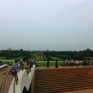 Lotus Temple Grounds