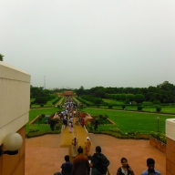 Lotus Temple Walkway