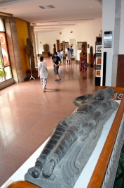 Ranganatha (representation of Vishnu lying on a bed) at National Museum