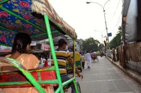 Rickshaw-Riding