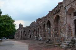 Purana Qila Wall