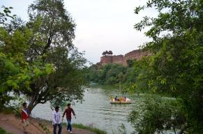 Boat Ride At Purana Qila