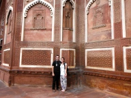 Us at Red Fort