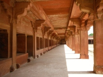"""Stables"" at Fatehpur Sikri"