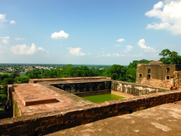 View of the City/Land Below Fatehpur Sikri