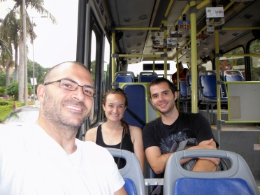 Enjoying Our Ride on the HOHO