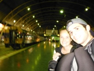 Bangkok Railway Station - Boarding Our 8:00pm Train!
