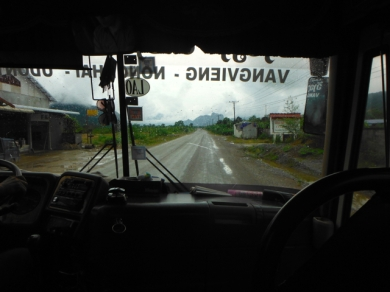 Bus Ride To Vang Vieng
