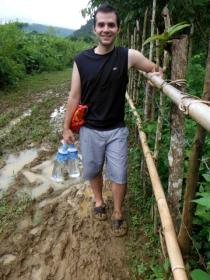 Trek to the Caves - Sooooooo Muddy!!