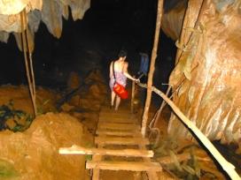 Treacherous Trek Down into Tham Loub