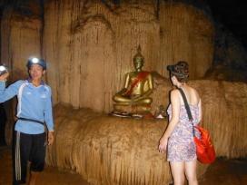 Buddha in Tham Loub