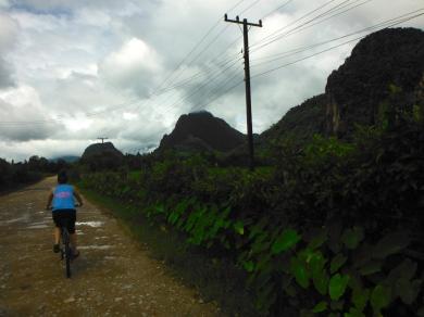 Bike Ride to Pouk Ham Cave & The Blue Lagoon