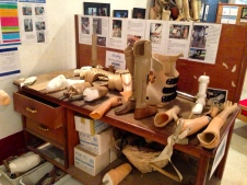 COPE Visitor Centre - Prosthetic Workshop