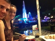 Sushi and Live Music at Nam Phou Fountain
