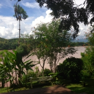 Mekong River View From Ock Pop Tok