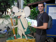 Adam, Our Books for Donating, & Big Brother Mouse