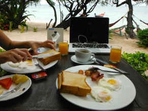 Pretty Nice Breakfast View