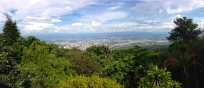 View of Chiang Mai City From the Top of Doi Suthep