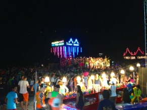 Crowds and Buckets at the Full Moon Party
