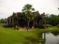 One of the Libraries in the Grounds of Angkor Wat