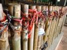 Bracelets Lining the Mass Grave Sites at Choeung Ek