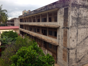 One of the Buildings Within the Complex of Tuol Sleng Genocide Museum