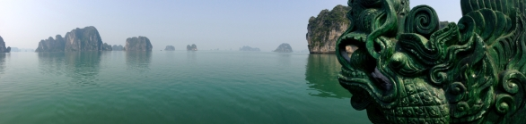 Ha Long Bay From the Front of the Dragon's Pearl